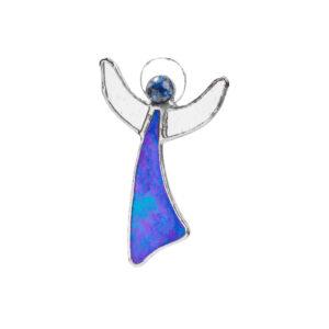 Inger cu Cristal Lapis Lazuli