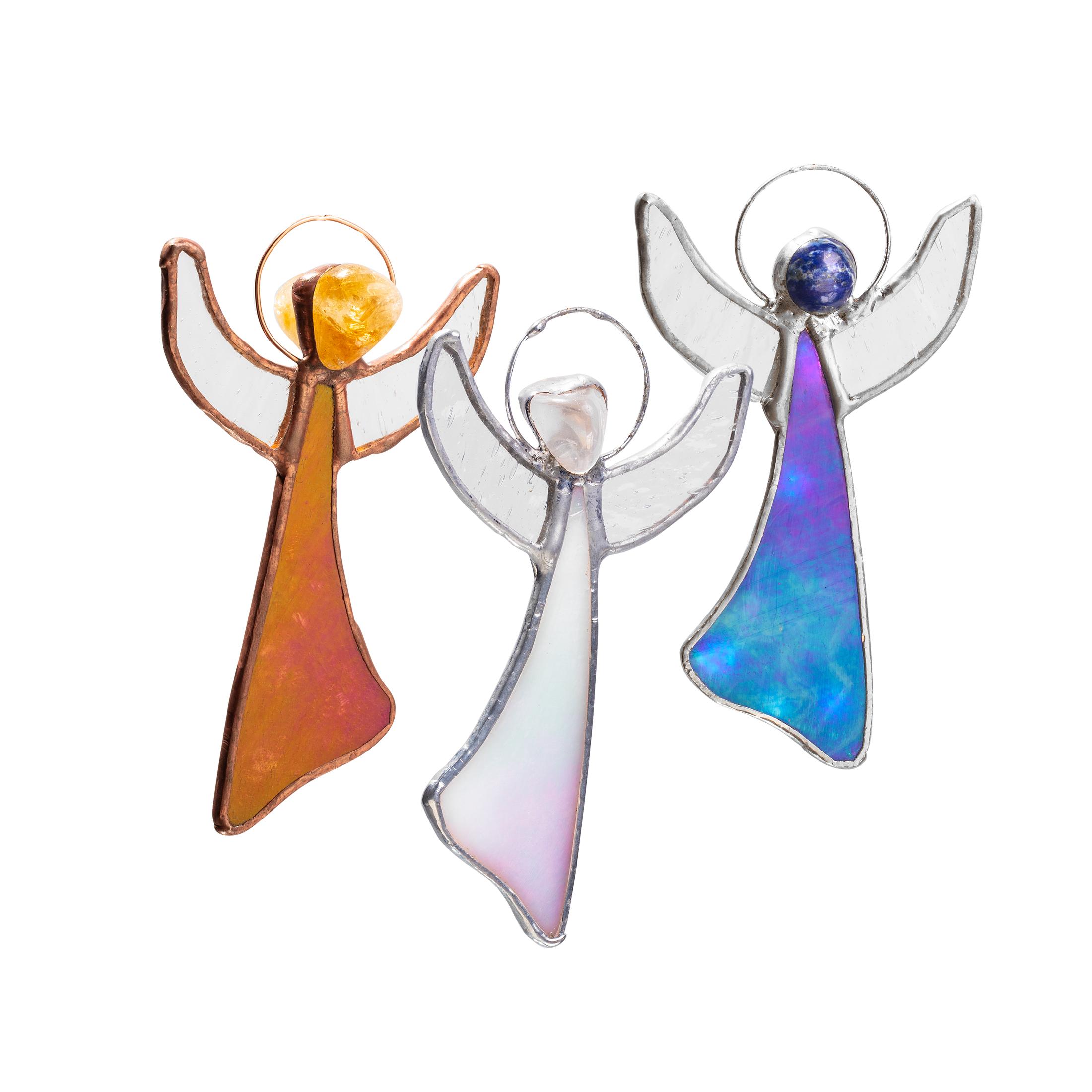 Angel Box cu cristale Angel Aura Citrin Lapis Lazuli