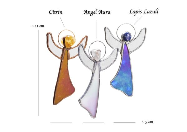 Angel Box cu Angel Aura Citrin si Lapis Lazuli