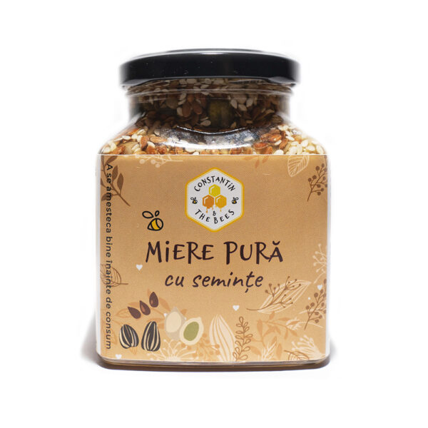 miere pura cu seminte