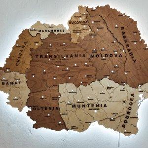 harta romania mare